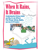 Pamphlet: When It Rains It Drains